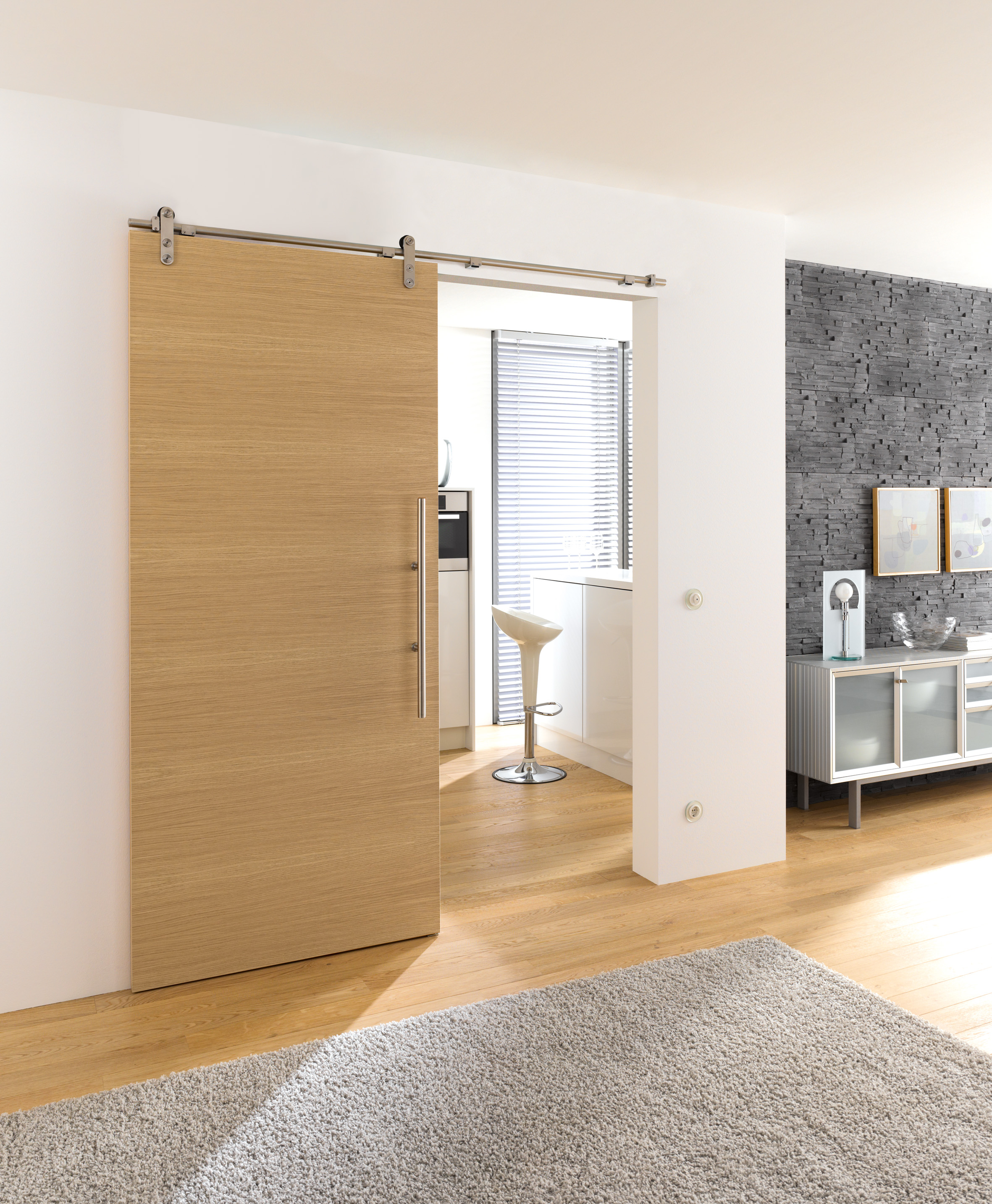 What is a sliding system edition basic perfect system for Designer interior doors uk