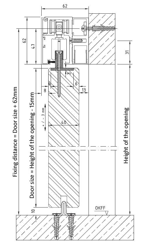 Wood Door Details : Sliding door gear wooden systems