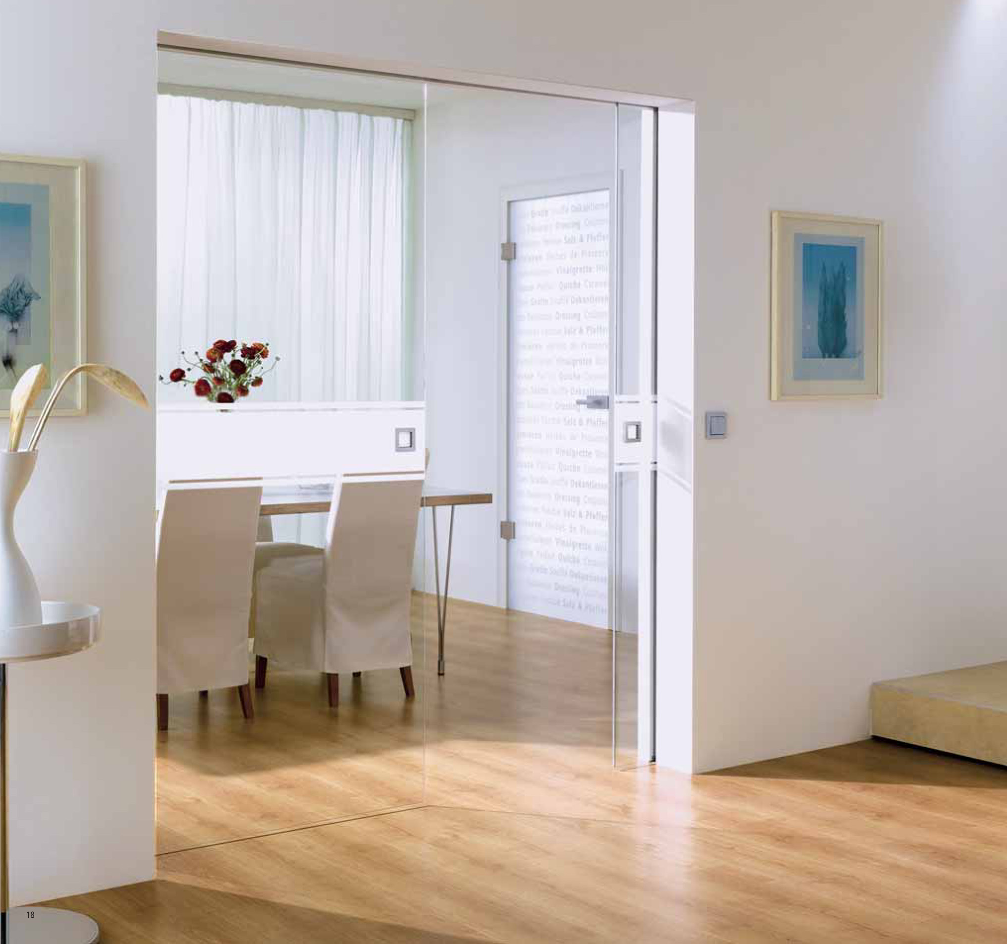 Pocket doors wooden sliding system double doors uk for Sliding glass doors that slide into the wall