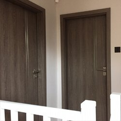 Dark Oak Doors Fitted in Hertfordshire