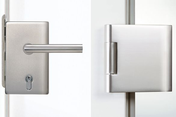 Hardware for glass doors pure