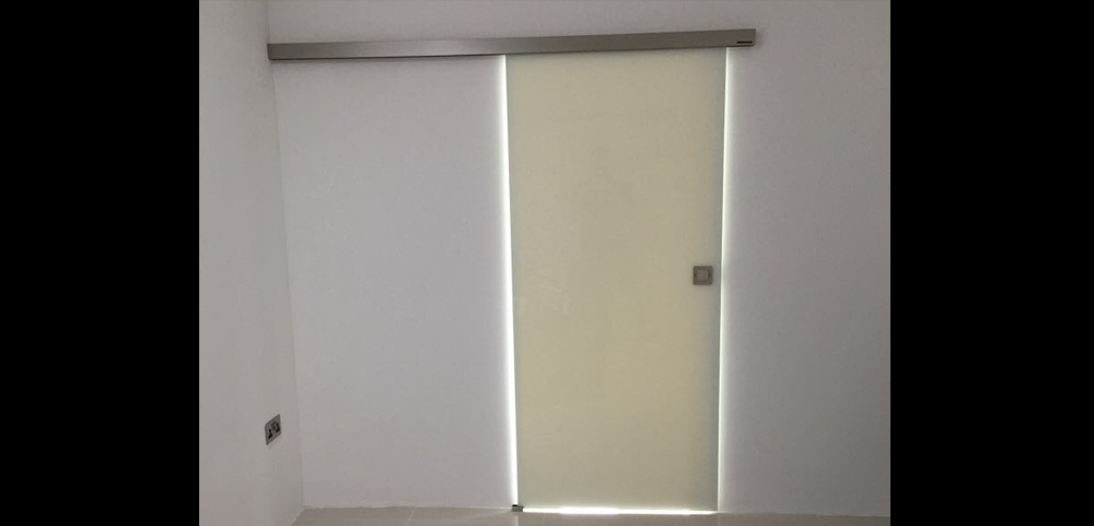 White Glass Internal Doors