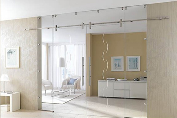 Quality Sliding Door Gear - Edition Style - Polished Chrome