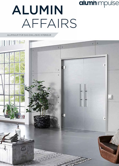 Aluminium frames catalogue