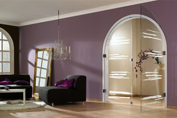 bespoke glass doors