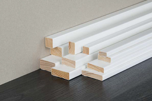 Solid Timber Moulding Wrapped
