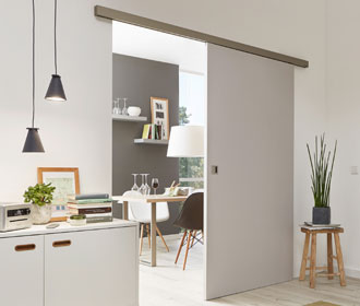 Painted internal sliding doors