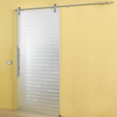 culinaria glass sliding door