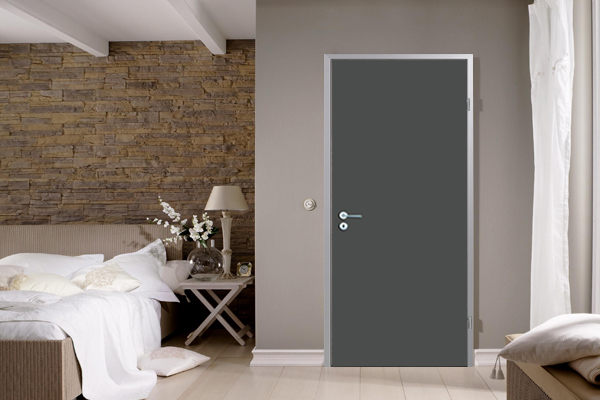 Dark Grey polyester waterproof door set