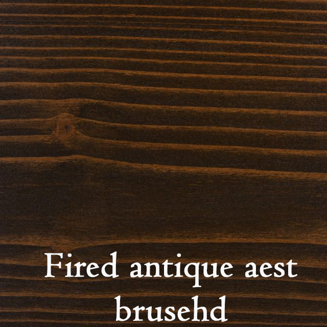 Fired antique aest brushed