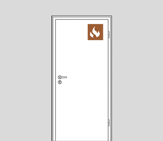 Flush Door Fire Rated FD30