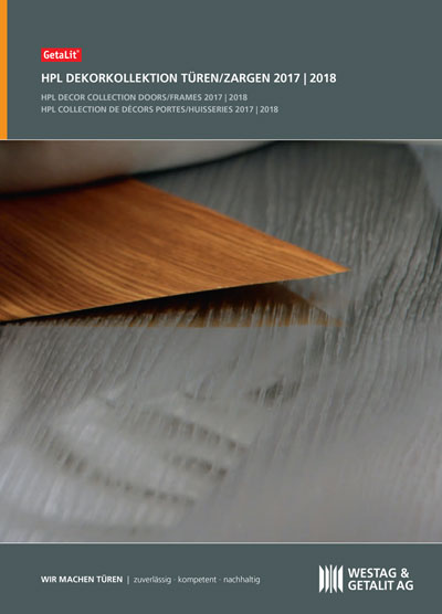 GetaLit HPL door surfaces catalogue