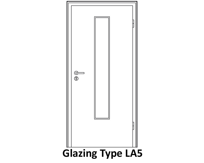 glazing door