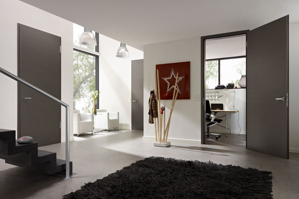 grey internal doors & Grey Internal Doors | Bespoke Quality Interior Dark Grey Doors UK