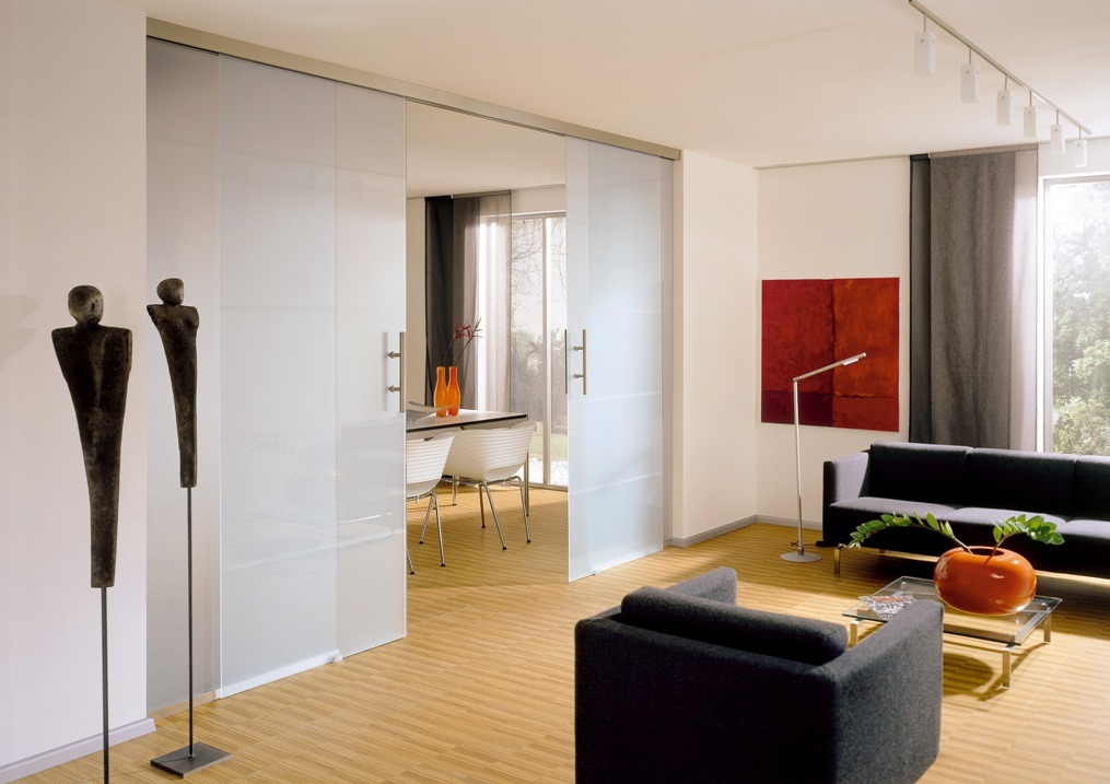 What is a glass tvin 2 0 sliding system glass walls can for Designer interior doors uk