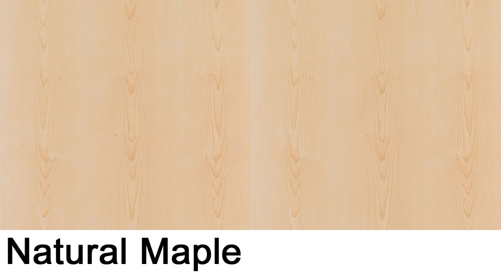 Natural Maple laminate sample