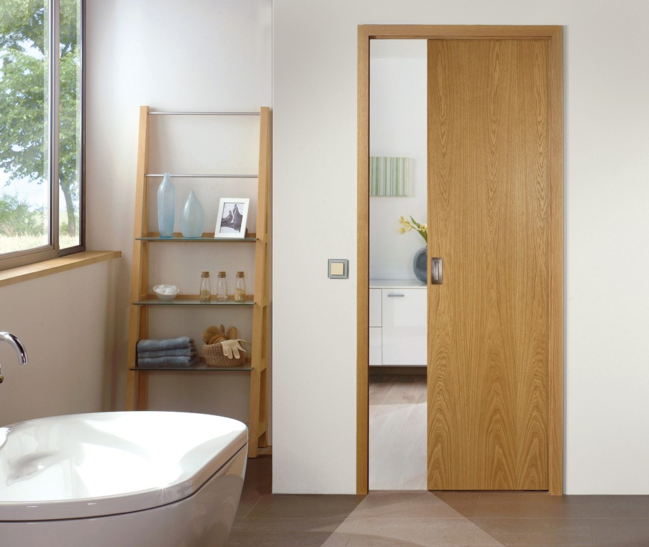 Great Wall Paritition With Pocket Doors