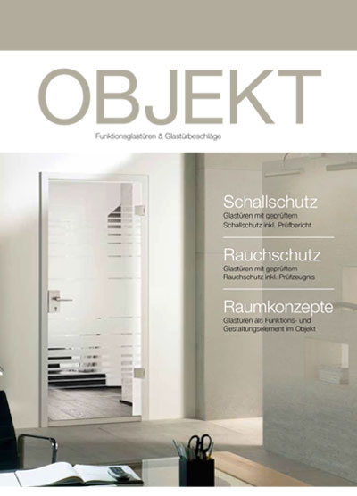 Objekt glass door catalogue