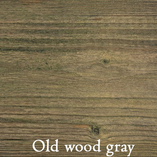 Old wood gray