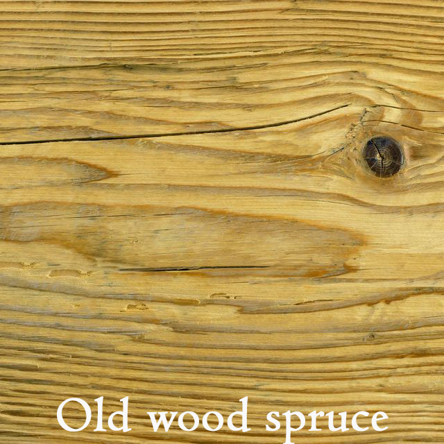Old wood spruce