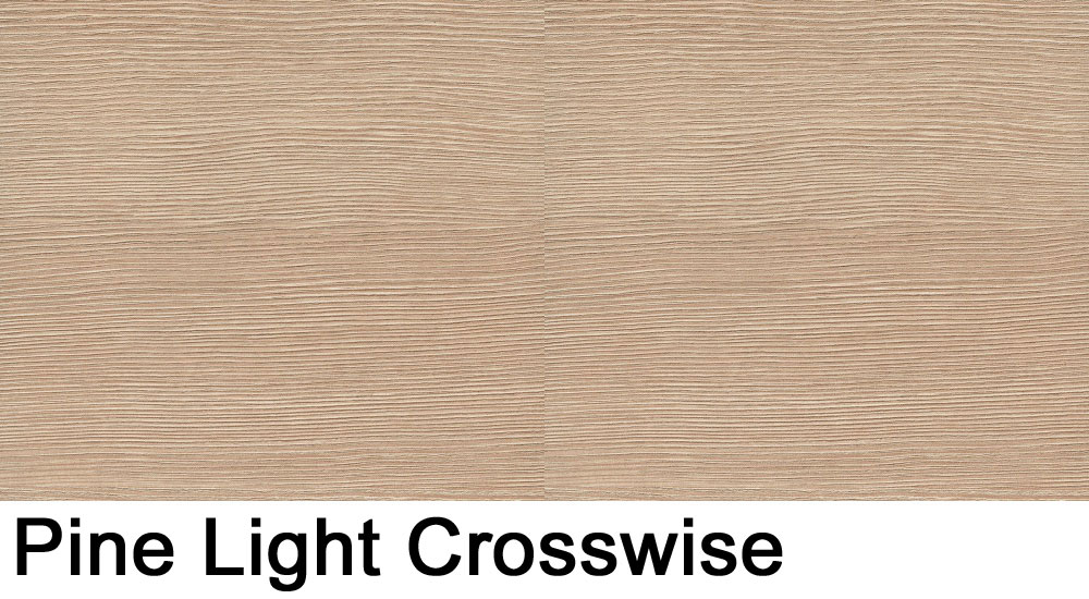Pine Light crosswise laminate sample