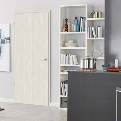 Pinea snow laminate door set