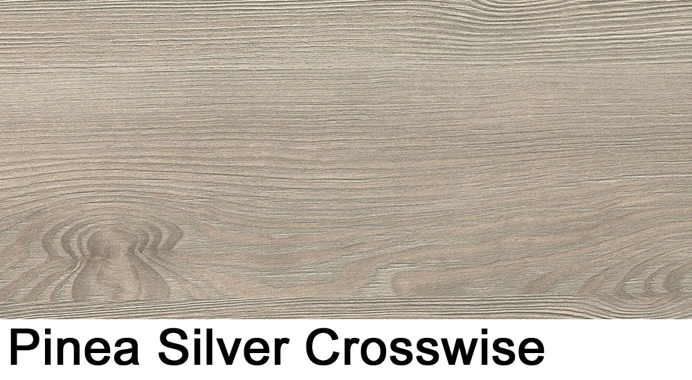 Pinea Silver crosswise laminate sample