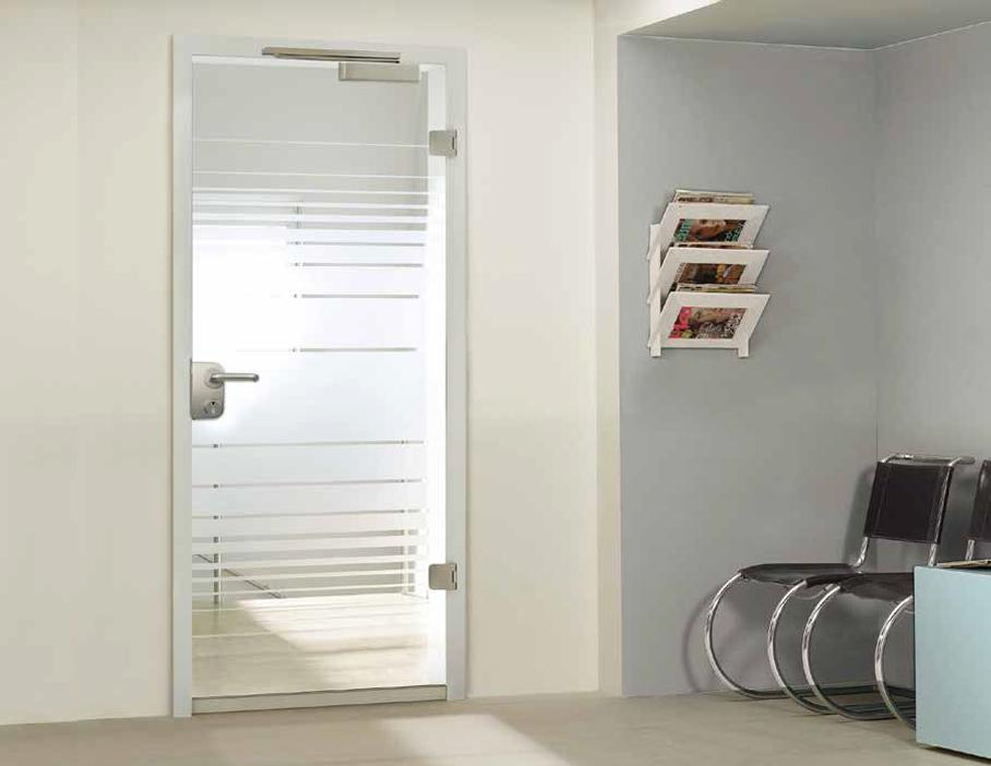 Smoke Proof Glass Doors