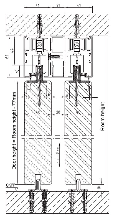 Sliding Door Mechanism