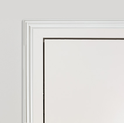 White Profile B architrave 70mm.