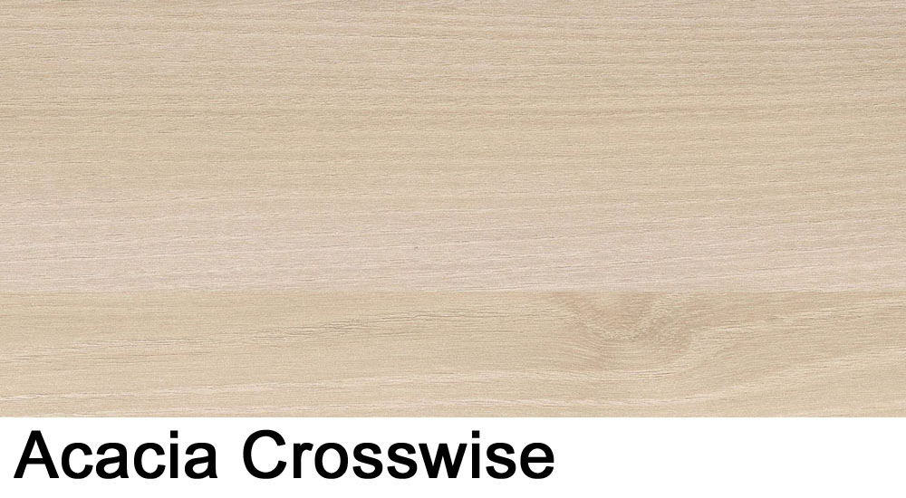 Acacia crosswise laminate sample