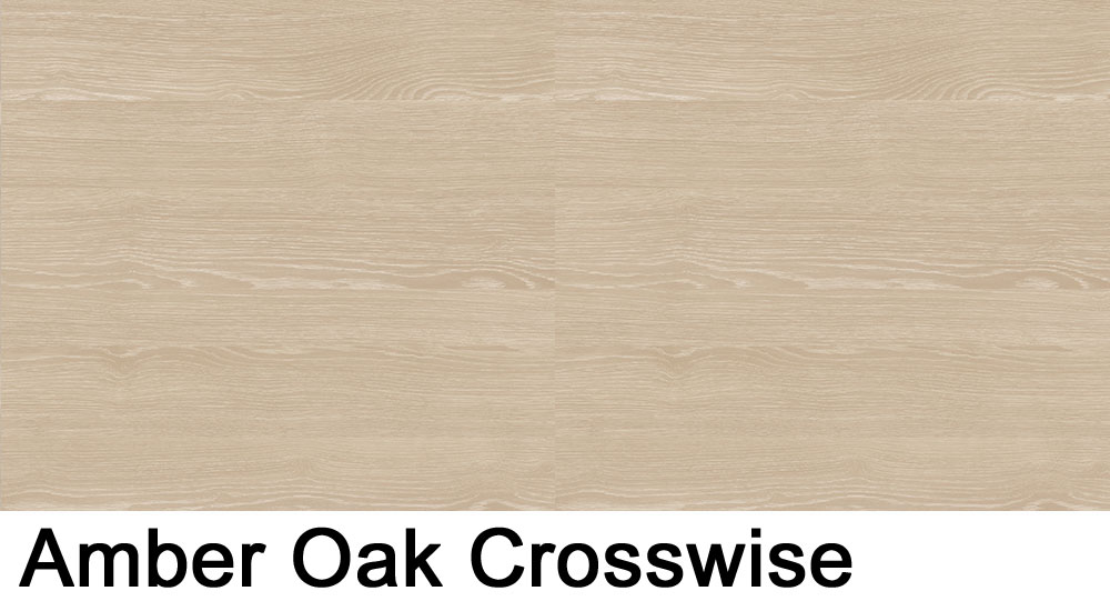 Amber Oak Crosswise laminate sample