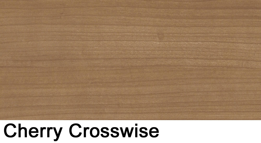 Cherry crosswise laminate sample