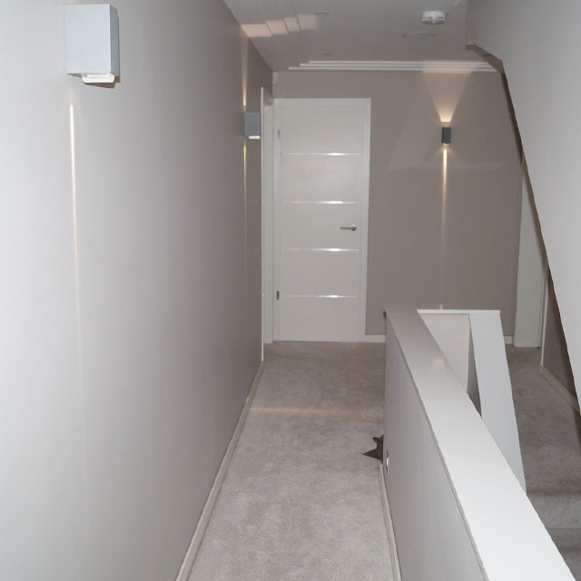 contemporary white internal door sets