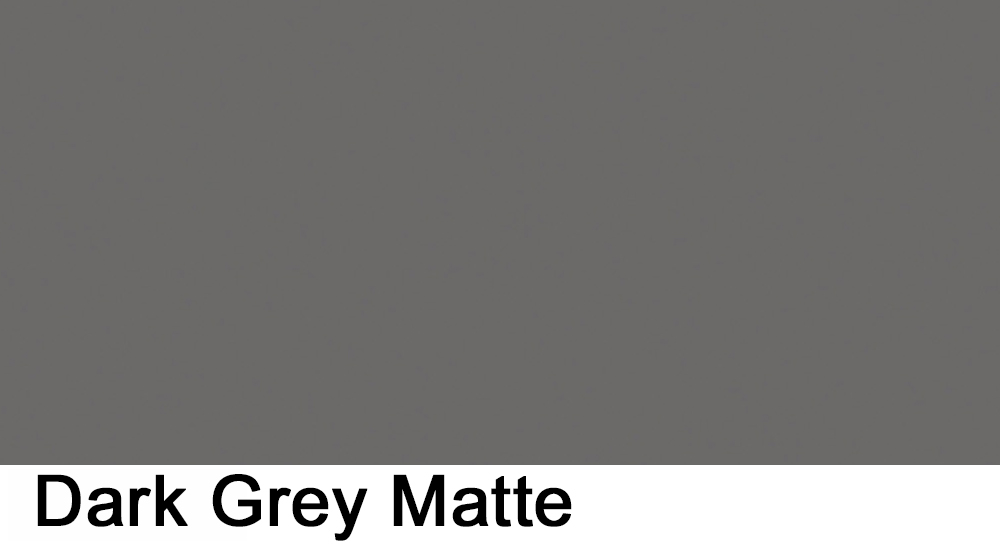 dark grey matte laminate sample