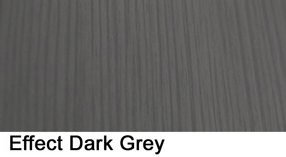 effect dark grey laminate sample
