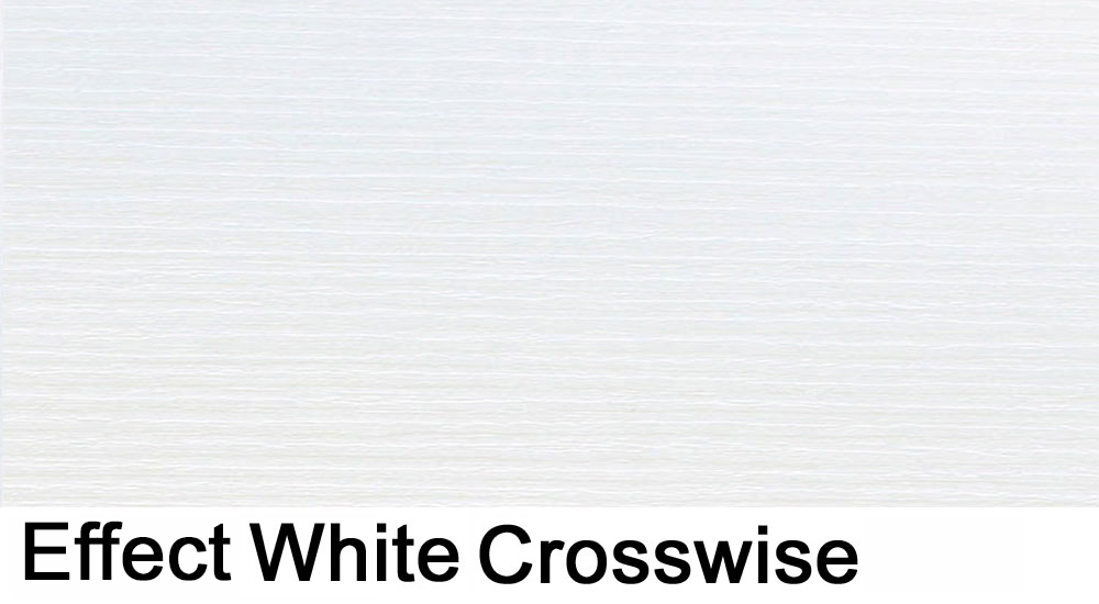 effect white crosswise laminate sample