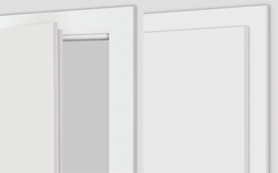Rebated door set