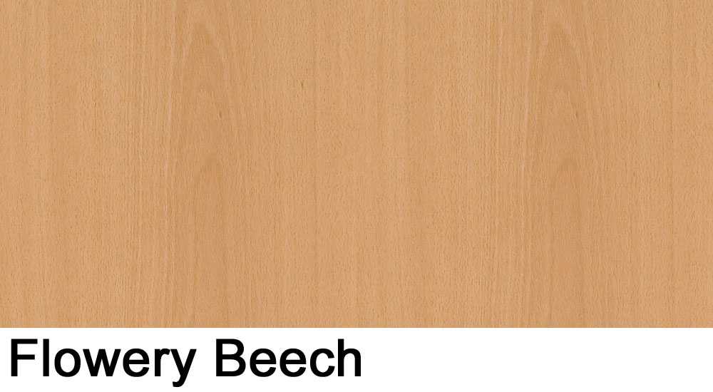 Flowery Beech laminate sample