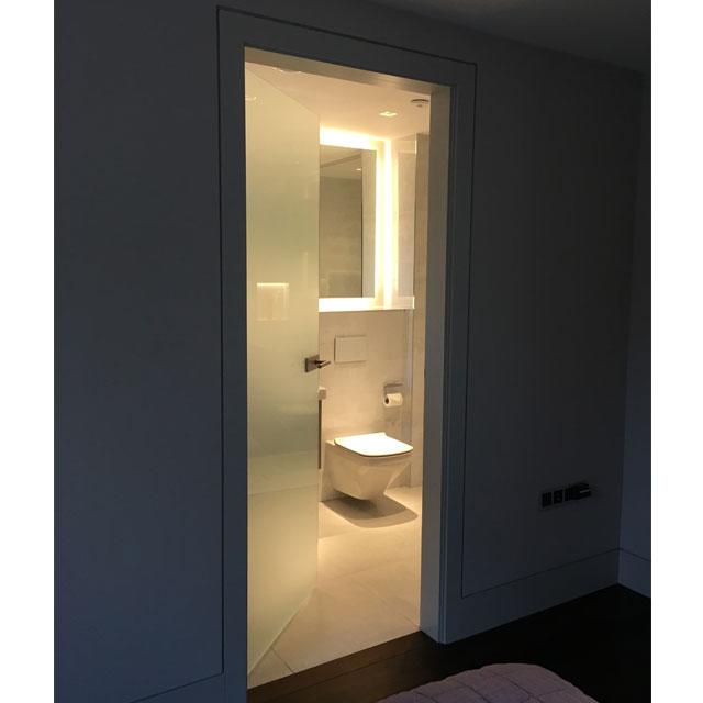 Memo Bespoke Glass Door Design | Frosted Glass Doors ...