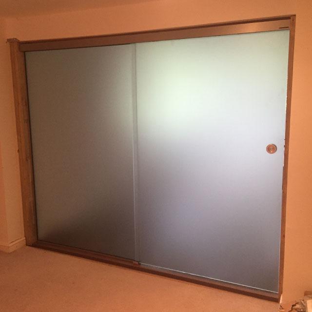Memo bespoke glass door design frosted glass doors - Bathroom glass partition designs ...
