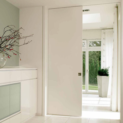 glazed pocket doors