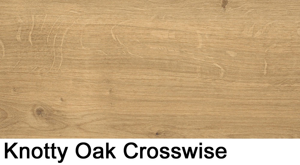 Knotty Oak crosswise laminate sample