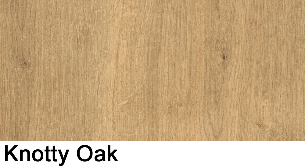 Knotty Oak laminate sample