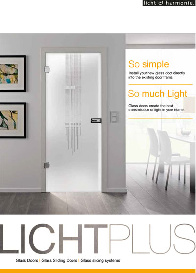 Licht Plus small glass catalogue