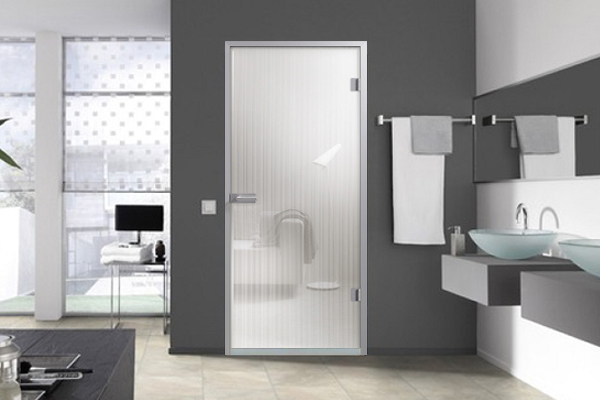 Lista Due glass water resistant doors
