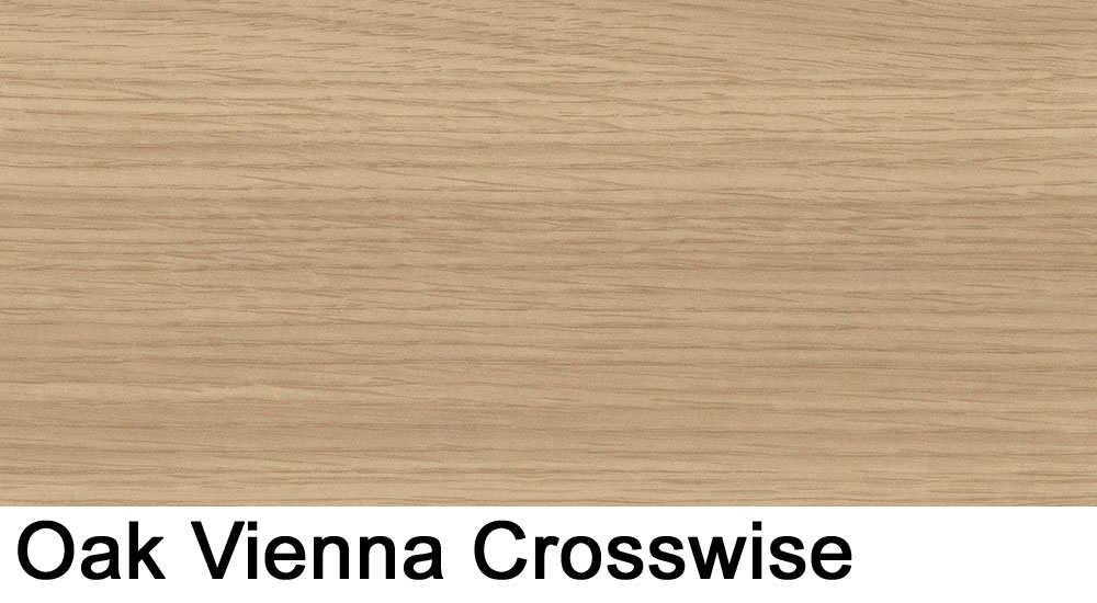 Oak Vienna crosswise laminate sample