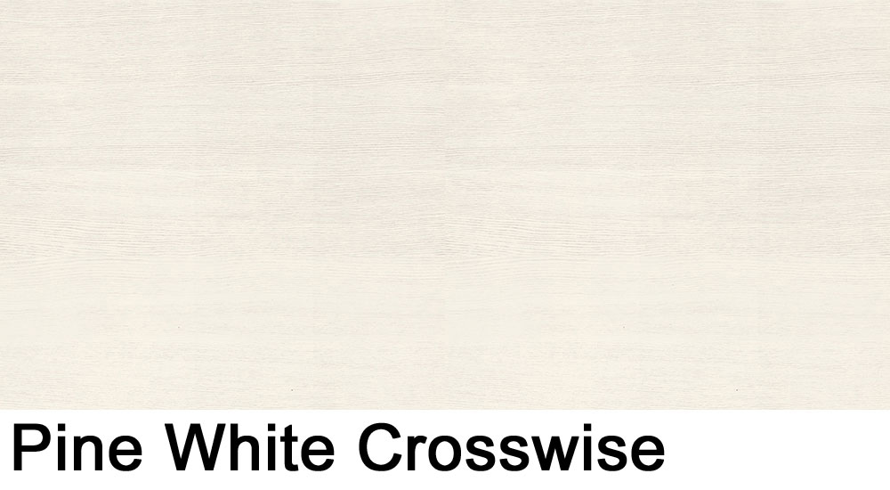 Pine White crosswise laminate sample