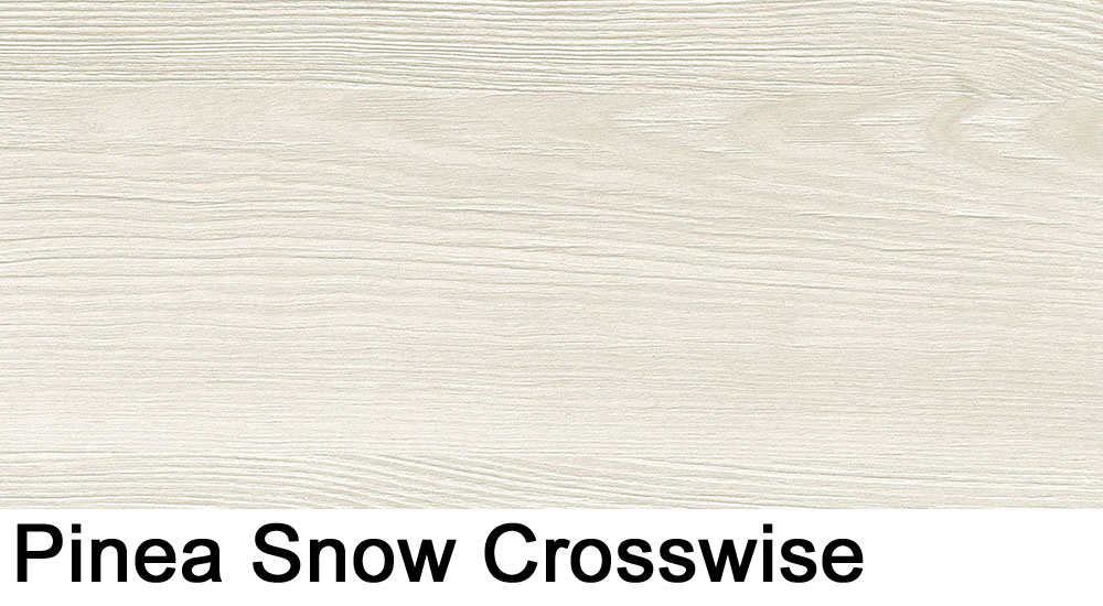 Pinea Snow crosswise laminate sample