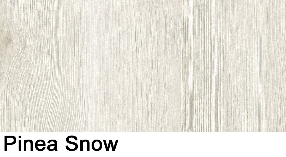 Pinea Snow laminate sample